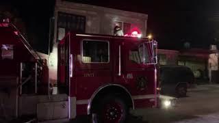 Incendio en casas habitación provocado por pirotecnia