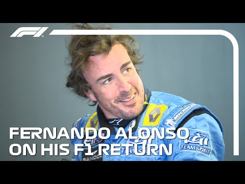 Fernando Alonso On Driving The Renault R25 Again And His F1 Return