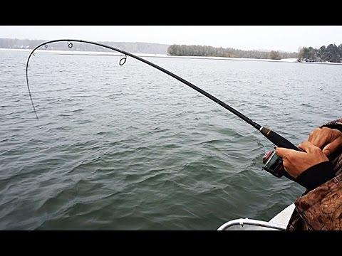 зацеп на рыбалке видео
