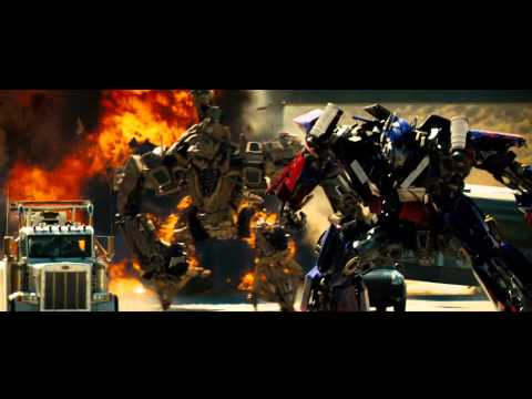 "Transformers 2007 The Movie ""Optimus Prime Vs BoneCrusher"" (Blu-ray) Edition"