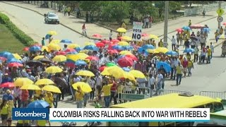 Confusion as Colombians cope with ballot loss for peace deal