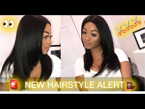 New hairstyle - SUMMER HAIRSTYLE! NEW HAIR CUT Ft. Trendy Beauty Hair