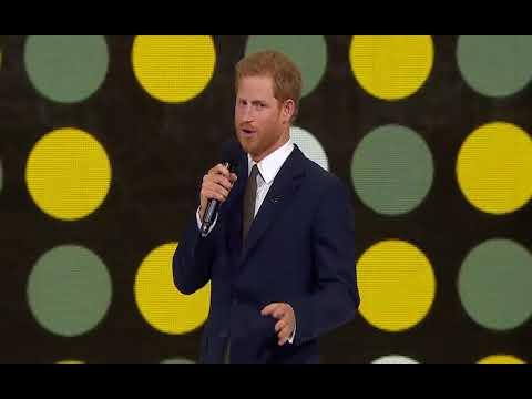 """Принц Гаррі  взяв участь у відкритті """"Ігр Нескорених"""" у Торонто"""