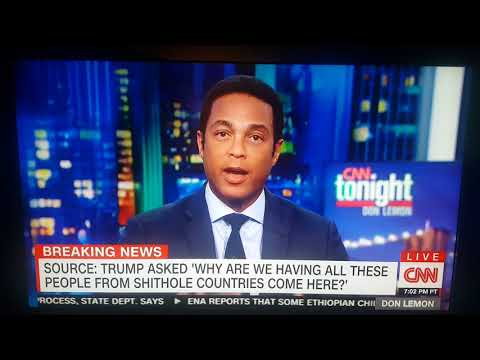 Don Lemon - Trump is Racist
