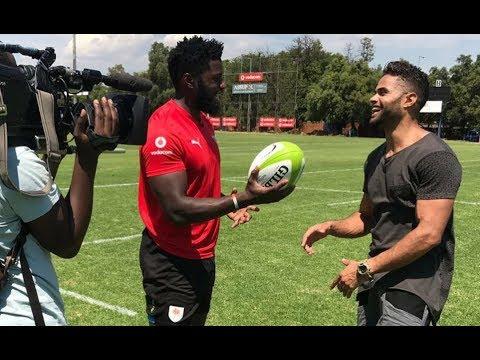 Springbok & Blue Bulls winger Jamba Ulengo