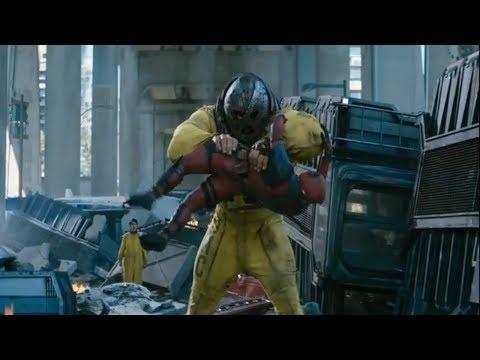 Deadpool vs Juggernaut Full Fight Deadpool 2 HD 1080P