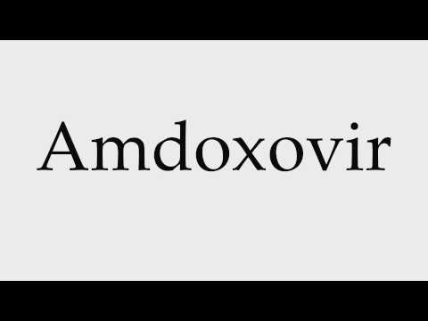 How to Pronounce Amdoxovir