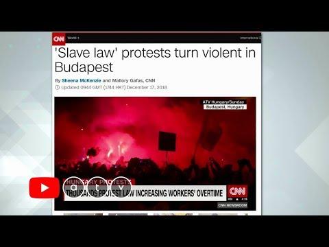 Nemzetközi hírek címlapján a budapesti tüntetéssorozat