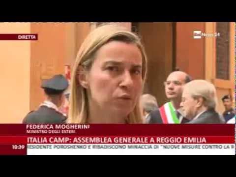 Iraq, Semestre Ue, Immigrazione: Il ministro Mogherini a Rai News