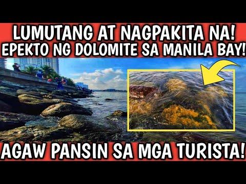 GRABE ANG EPEKTO NG DOLOMITE SAND? BINAGO NG BONGGA ANG MANILA BAY!
