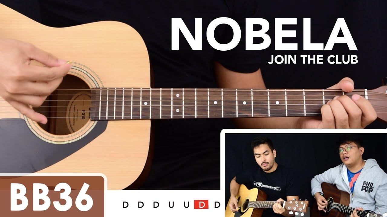 Nobela – Join the Club Guitar Tutorial / Cover