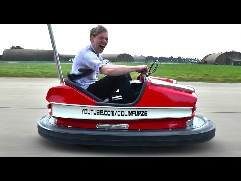 Crazy British Inventor Builds the World s Fastest Bumper