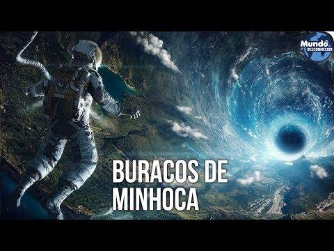 E SE VOCÊ ENTRASSE EM UM BURACO DE MINHOCA?