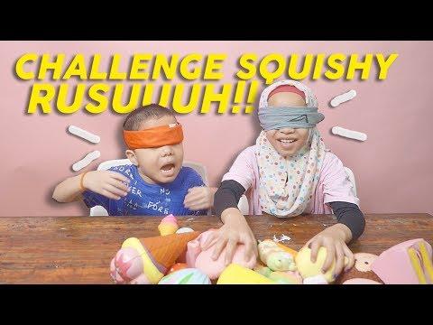 Baby Qahtan Ngambek! | Squishy Challenge Ft. Qahtan Halilintar