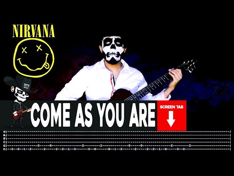Nirvana - Come As You Are (Guitar Cover by Masuka W/Tab)