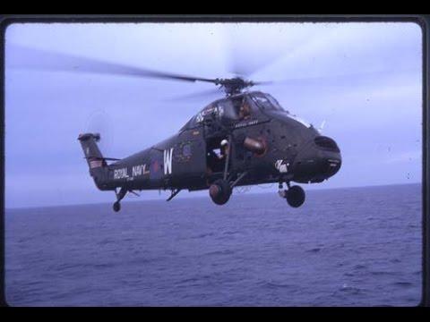 Wessex (Westland) helicopter, Filmed...