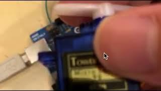 Arduinoでサーボモータを動かそう