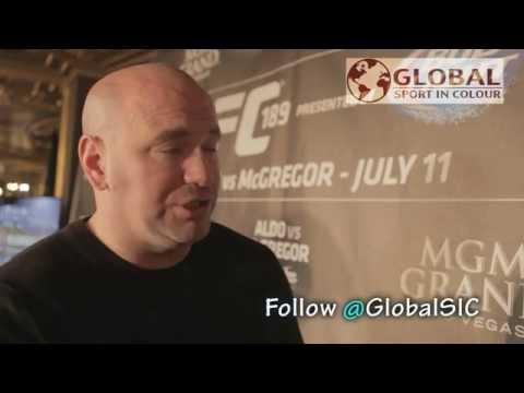 Dana White talks up ConnorVsAldo, Ronda Rousey and UFC future