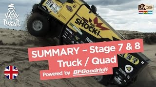 Stages 7 & 8 Summary - Quad/Truck - (Uyuni / Salta) - Dakar 2017 full download video download mp3 download music download