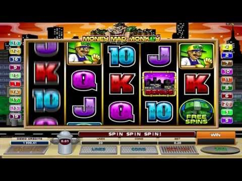 FREE Money Mad Monkey ™ slot machine game preview by Slotozilla.com