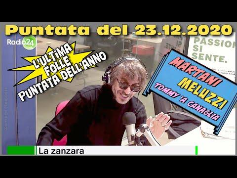 La Zanzara 23 dicembre 2020 видео