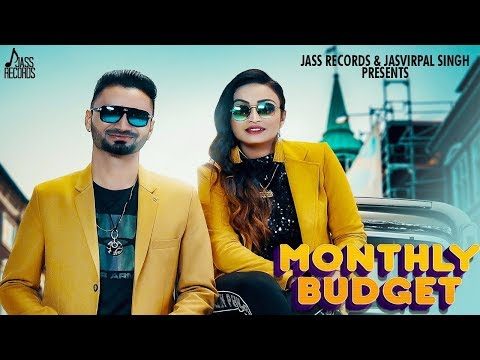 Monthly Budget | (Full HD) | Meet Brar & Harmandeep | New Songs 2020 | Jass Records