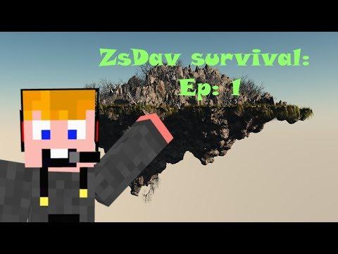 ZsDav survival: Ismerkedés a szigettel