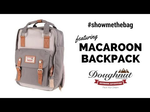 Introducing the Macaroon Backpack by Doughnut Bags