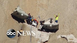 Yosemite Cliff Rock Climbers' Potential Record-Setting Journey