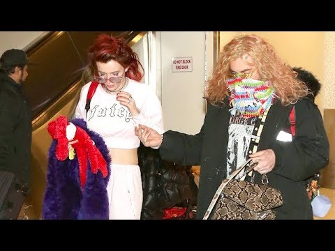Bella Thorne And Mod Sun Back In LA After Raunchy On Stage Performance