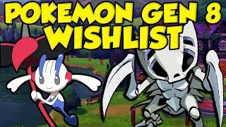 The ULTIMATE Pokemon Sword and Shield Wishlist! by Verlisify