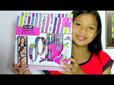 Fashion Angels Tapeffiti Headband Kit – Kids' Toys