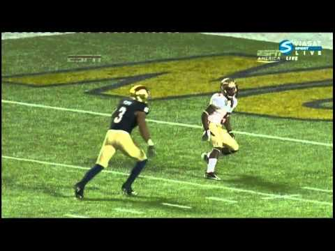 Lamarcus Joyner vs Notre Dame 2011 video.