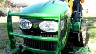 6. Almost 200 Hrs On My John Deere 2320  Compact 4x4 Diesel Tractor By KVUSMC