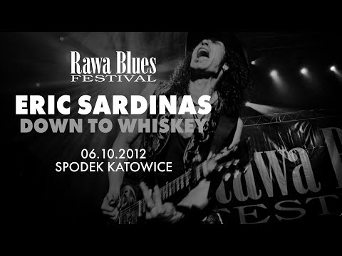 Eric Sardinas @ Rawa Blues Festival 2012 - Down To Whiskey