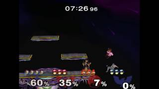 Falcon Punch into Up tilt