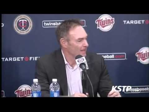 Twins Introduce Paul Molitor as Manager