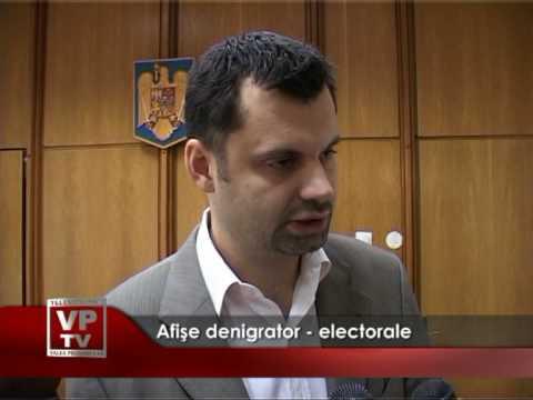 Afise denigrator electorale