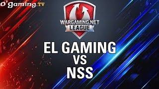 EL Gaming vs NSS - WOT Wargaming Gold League Europe - Group Stage