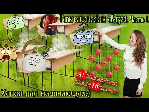 Типы химических связей. Часть 1. - DomaVideo.Ru