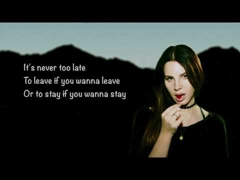 Lana Del Rey - Summer Bummer Lyrics ft. A$AP Rocky, Playboi Carti