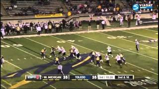 Jordan White vs Toledo 2011