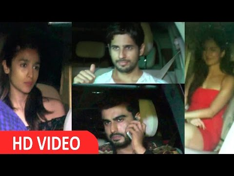 Alia Bhatt, Arjun Kapoor & Many More Celebs At Katrina Kaif Birthday Party