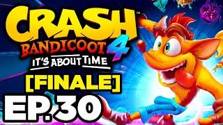 • RETRO VIDEO GAME GRAPHICS, INVERTED CORTEX ISLAND LEVEL!!! - Crash 4 Ep.30 (Gameplay / Let's Play)
