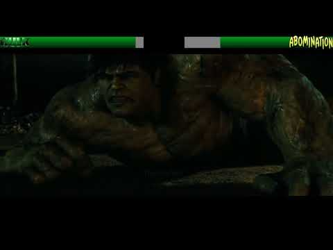 Hulk Vs Abomination...with Healthbars