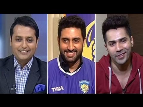 Abhishek Bachchan - Co-owner of Indian Super League side, Chennaiyin F.C. and Bollywood star Abhishek Bachchan told NDTV that people should respect the fact that this venture is...