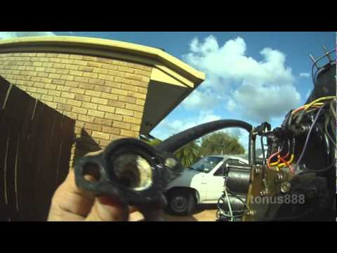 Mercury 175HP – 200HP Outboard No Water Flowing from Cowl outlet and Startup Test