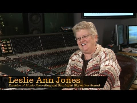 Leslie Ann Jones, Dir. of Music Recording and Scoring at Skywalker Sound – Pensado's Place #99