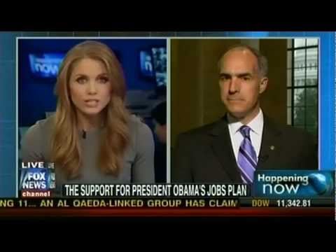 Senator Casey Discusses Job Creation Strategies on Fox News