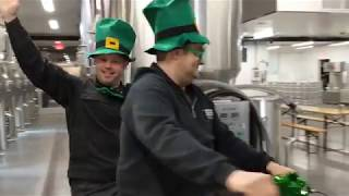 Practicing for St. Patrick's Day